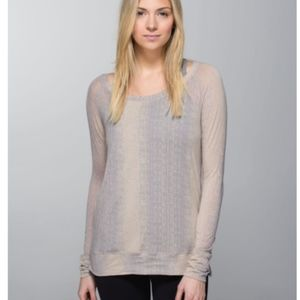 Lululemon Salutation To Savasana Long Sleeve